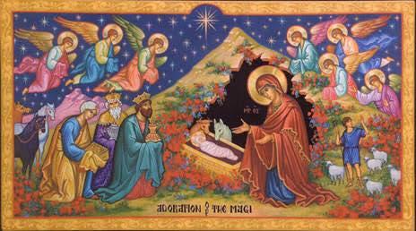 Saint Therapon Christmas Service Times (image: Adoration of The Magi)