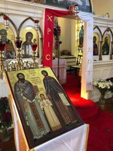 FEASTDAY OF ST'S RAPHAEL, NICHOLAS & IRENE Tuesday 10 April Paschal Liturgy 7.30-9.00 am